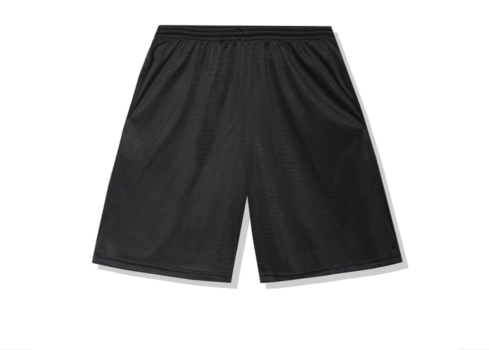 slide 2 - Sports Black Shorts