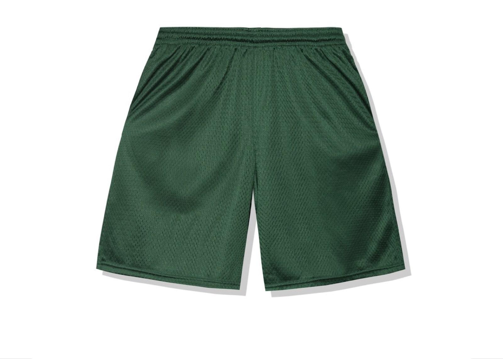 slide 2 - Sports Green Shorts