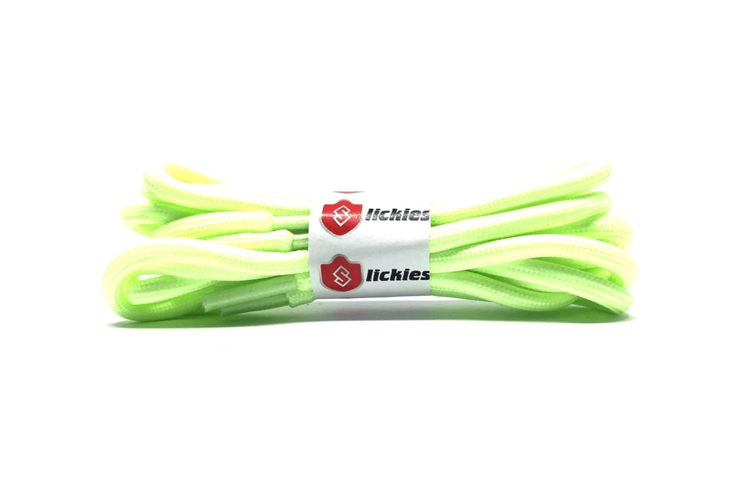 slide 1 - Basics Rope Laces - Glow in The Dark