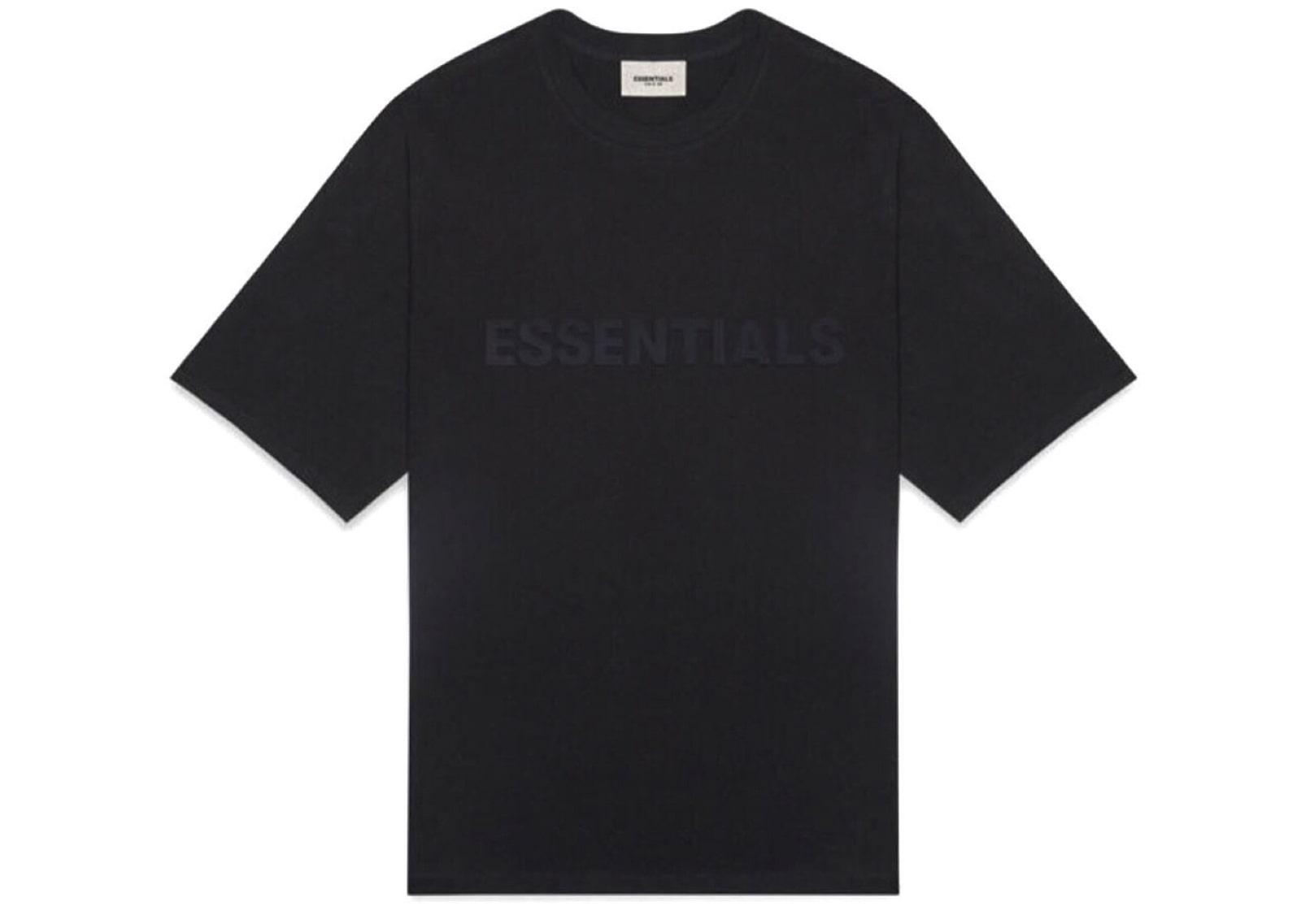 slide 1 - Black Logo Tshirt (SS20)