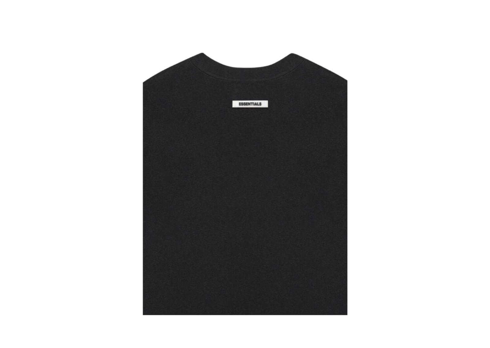 slide 4 - Black Logo Tshirt (SS20)