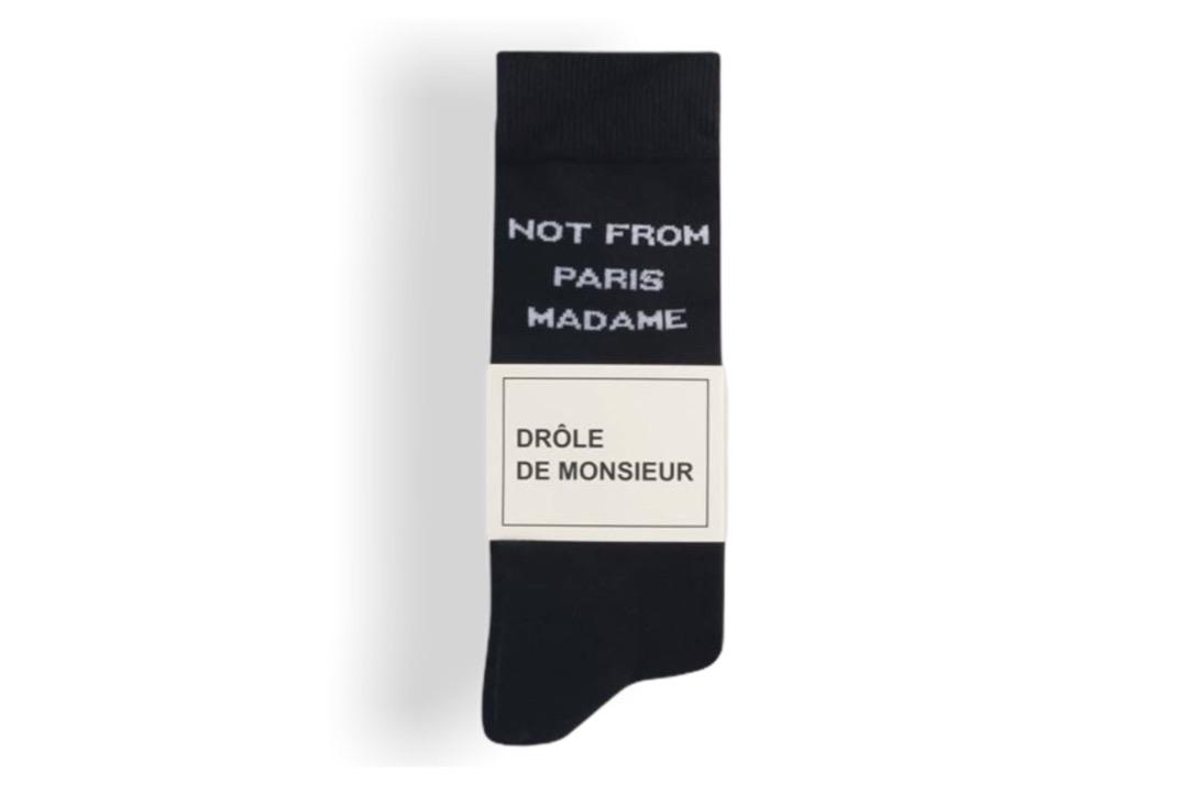 slide 2 - Black NFPM Socks