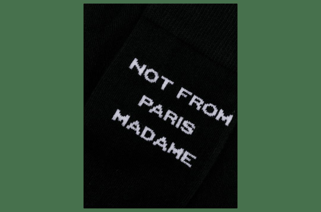 slide 3 - Black NFPM Socks