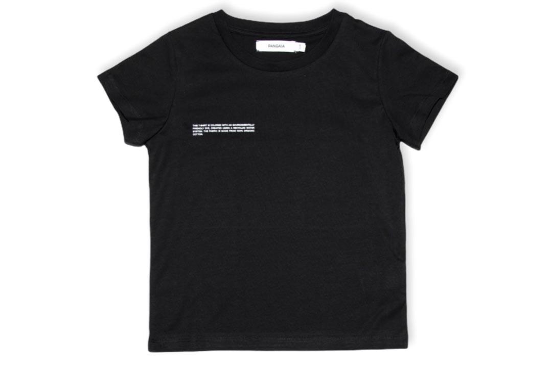slide 1 - Black Organic Cotton Tshirt