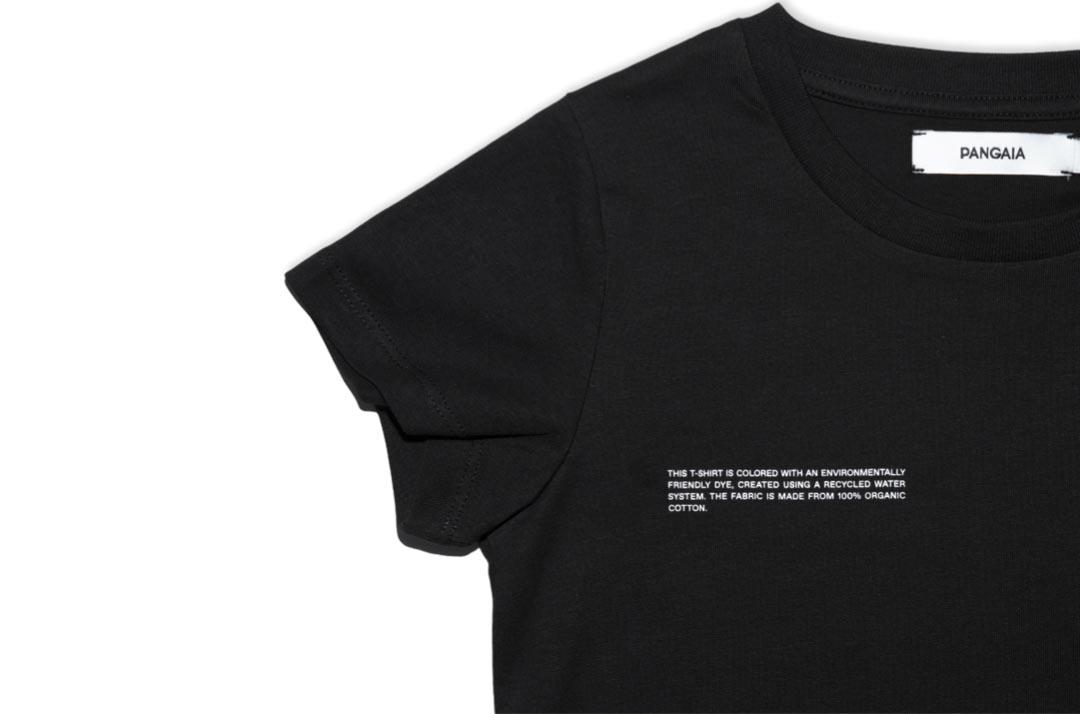 slide 2 - Black Organic Cotton Tshirt