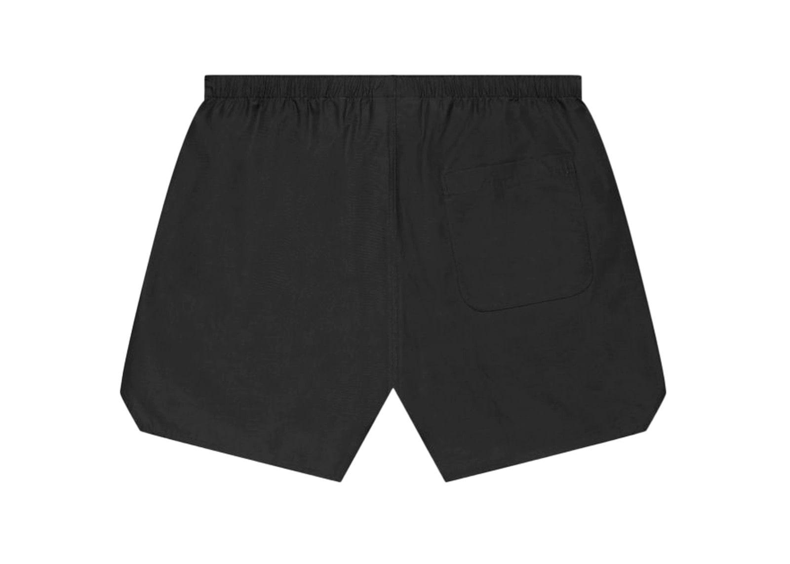 slide 2 - Black Volley Shorts