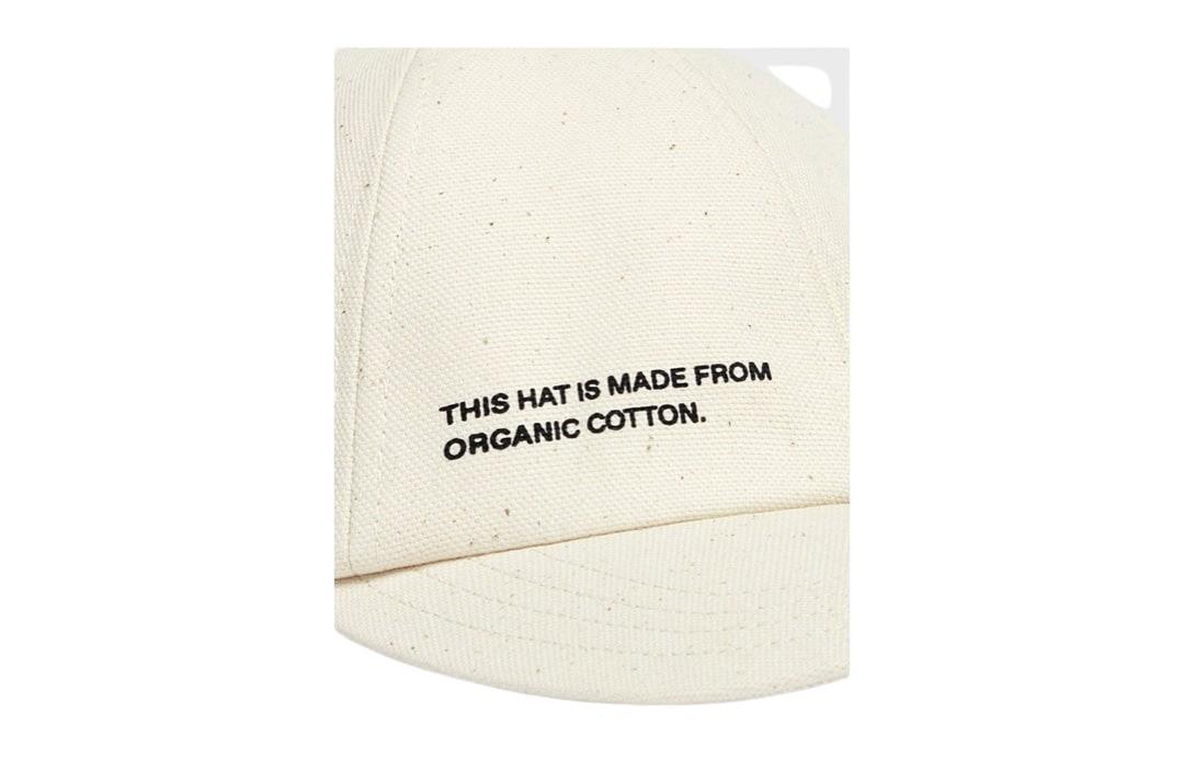 slide 5 - Cashew Cream Organic Cotton Cap
