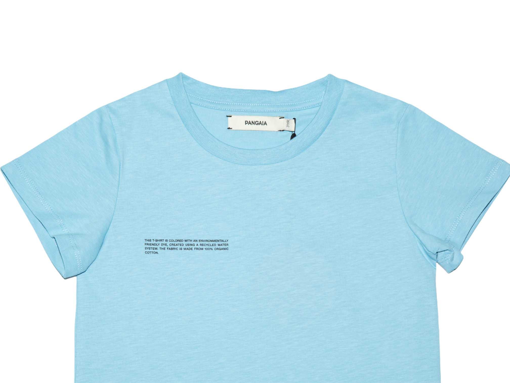 slide 2 - Celestial Blue Organic Cotton Tshirt