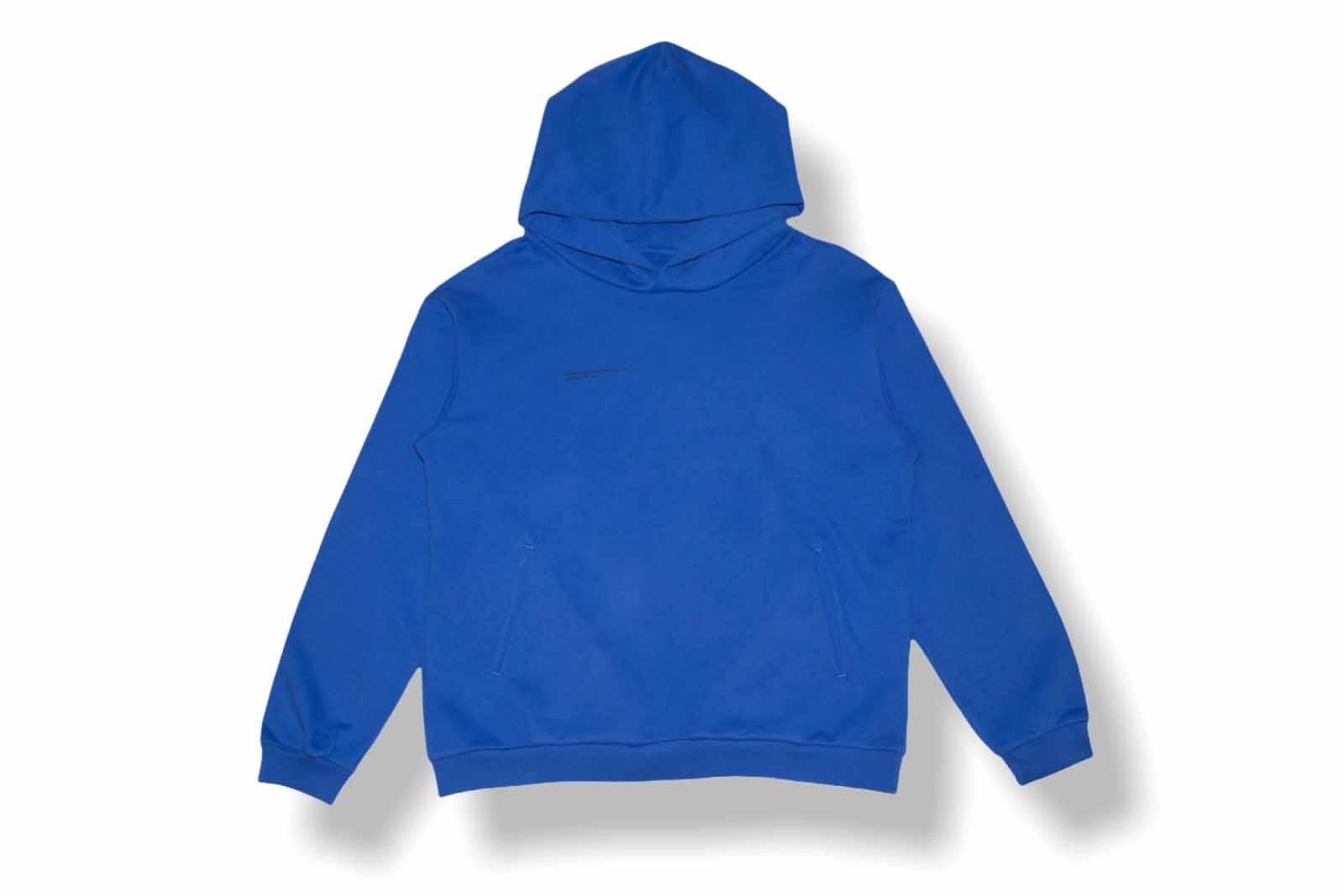slide 1 - Cobalt Blue Organic Cotton Hoodie