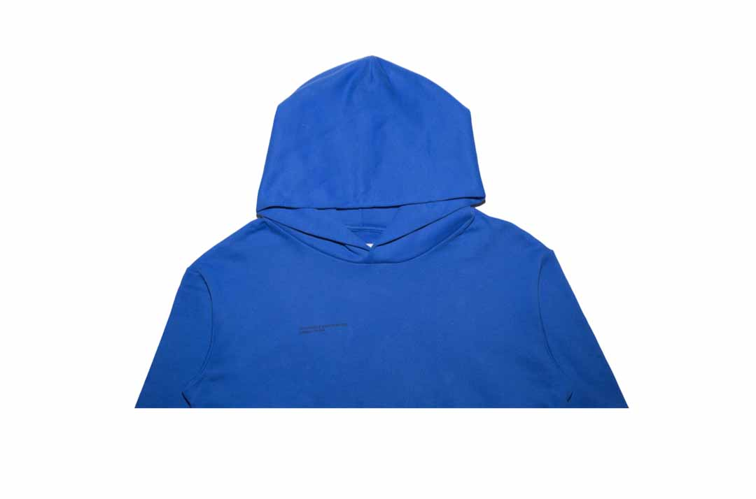 slide 2 - Cobalt Blue Organic Cotton Hoodie