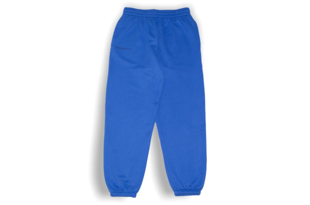 slide 1 - Cobalt Blue Organic Cotton Track Pants