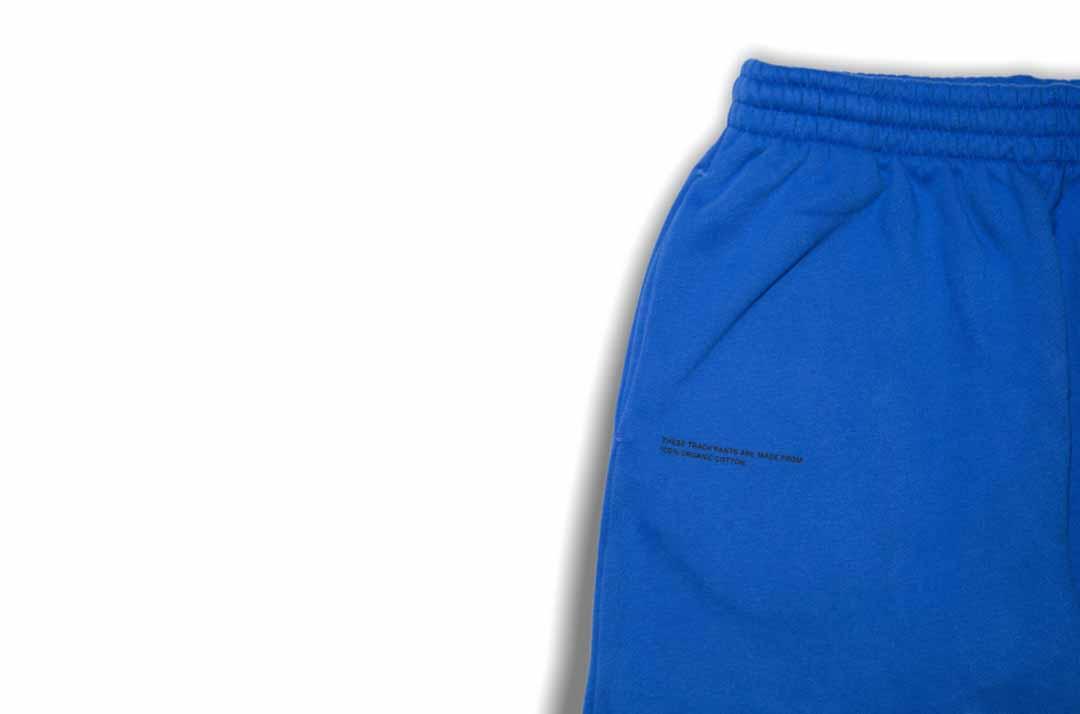 slide 2 - Cobalt Blue Organic Cotton Track Pants