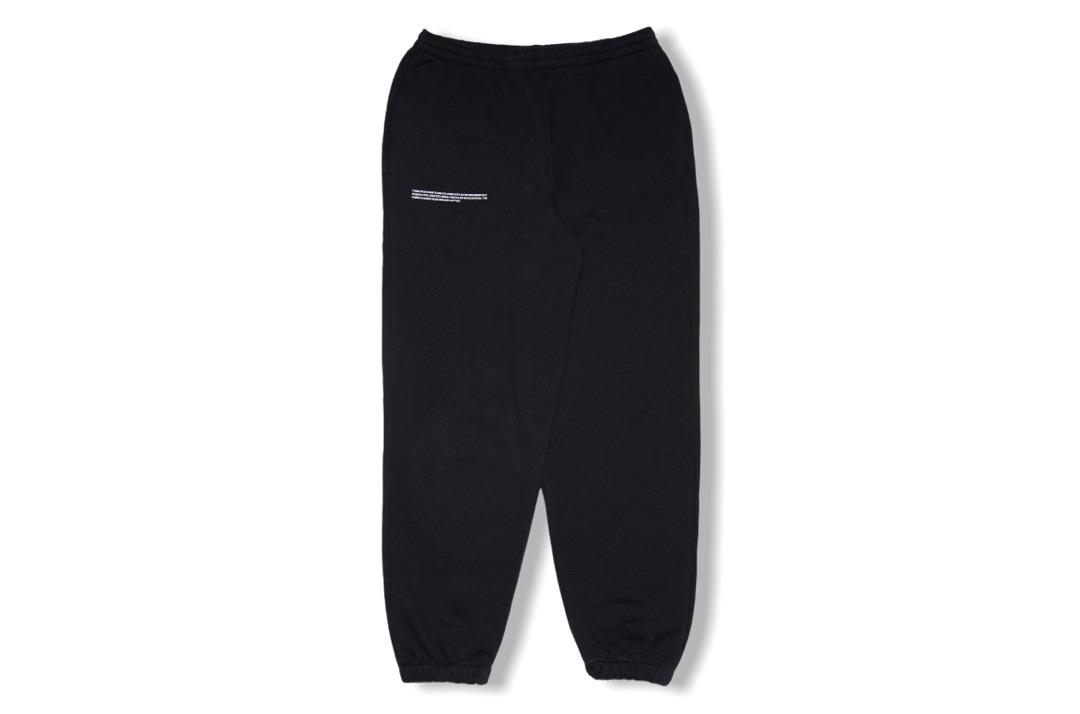 slide 1 - Cotton Track Pants - Black