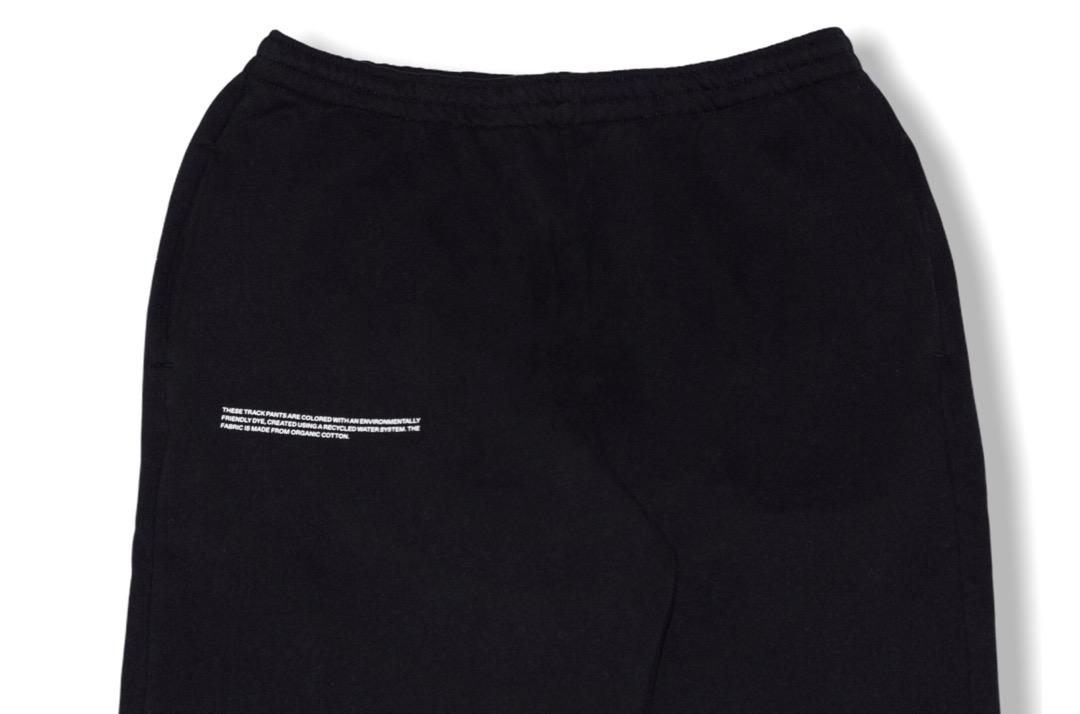 slide 2 - Cotton Track Pants - Black