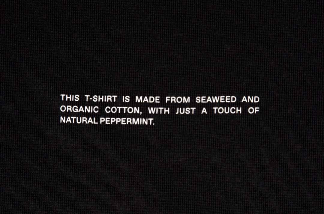 slide 2 - Cropped Shoulder Tshirt - Black
