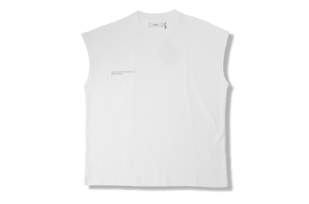 slide 1 - Cropped Shoulder Tshirt - Off White