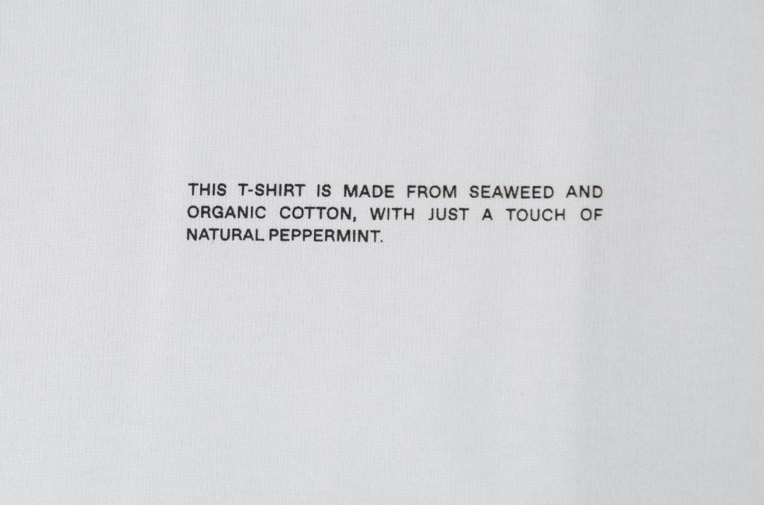 slide 2 - Cropped Shoulder Tshirt - Off White
