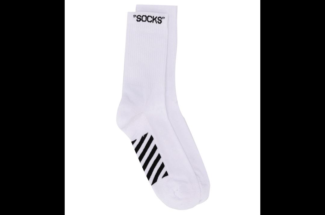 slide 1 - Embroidered Logo Socks