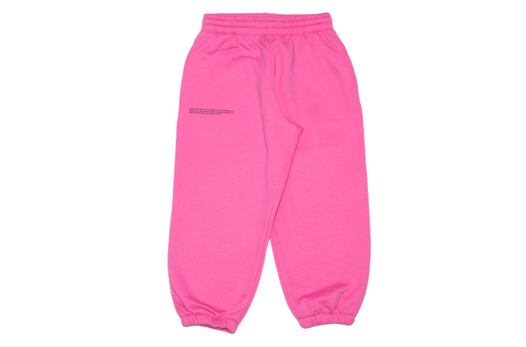 slide 1 - Flamingo Pink Organic Cotton Track Pants