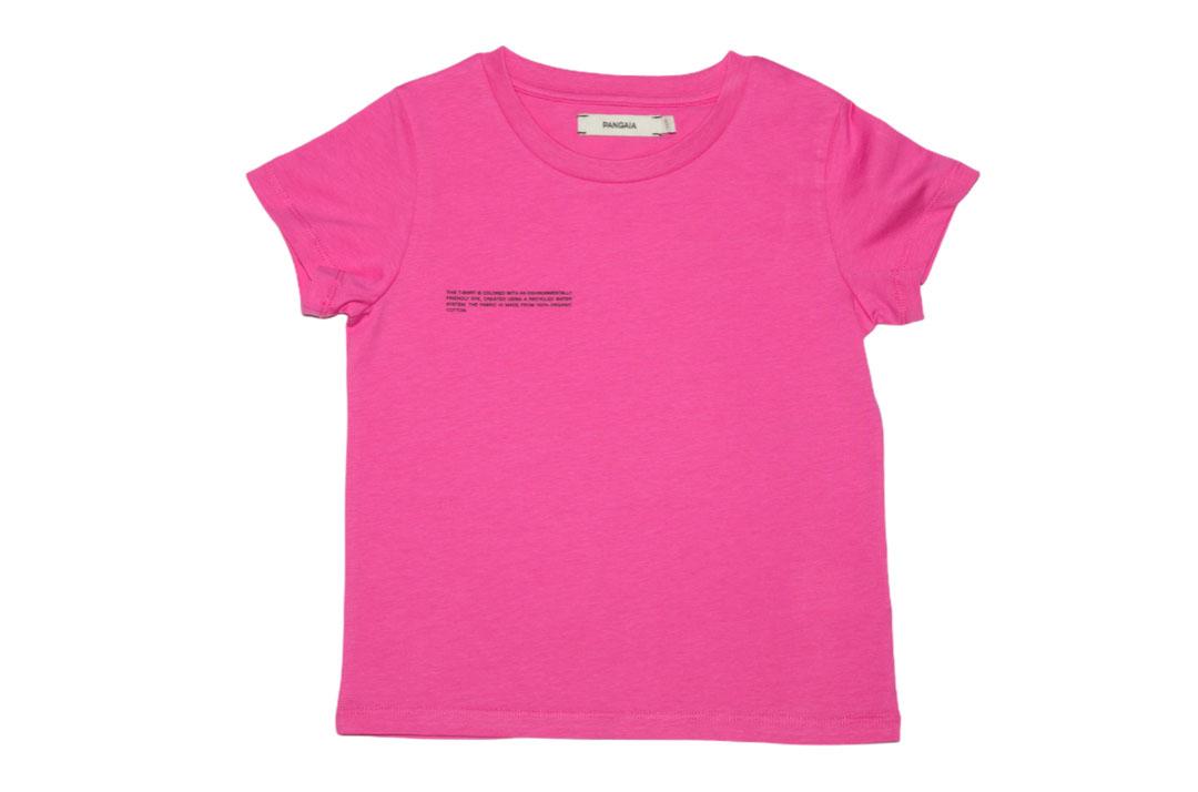 slide 1 - Flamingo Pink Organic Cotton Tshirt