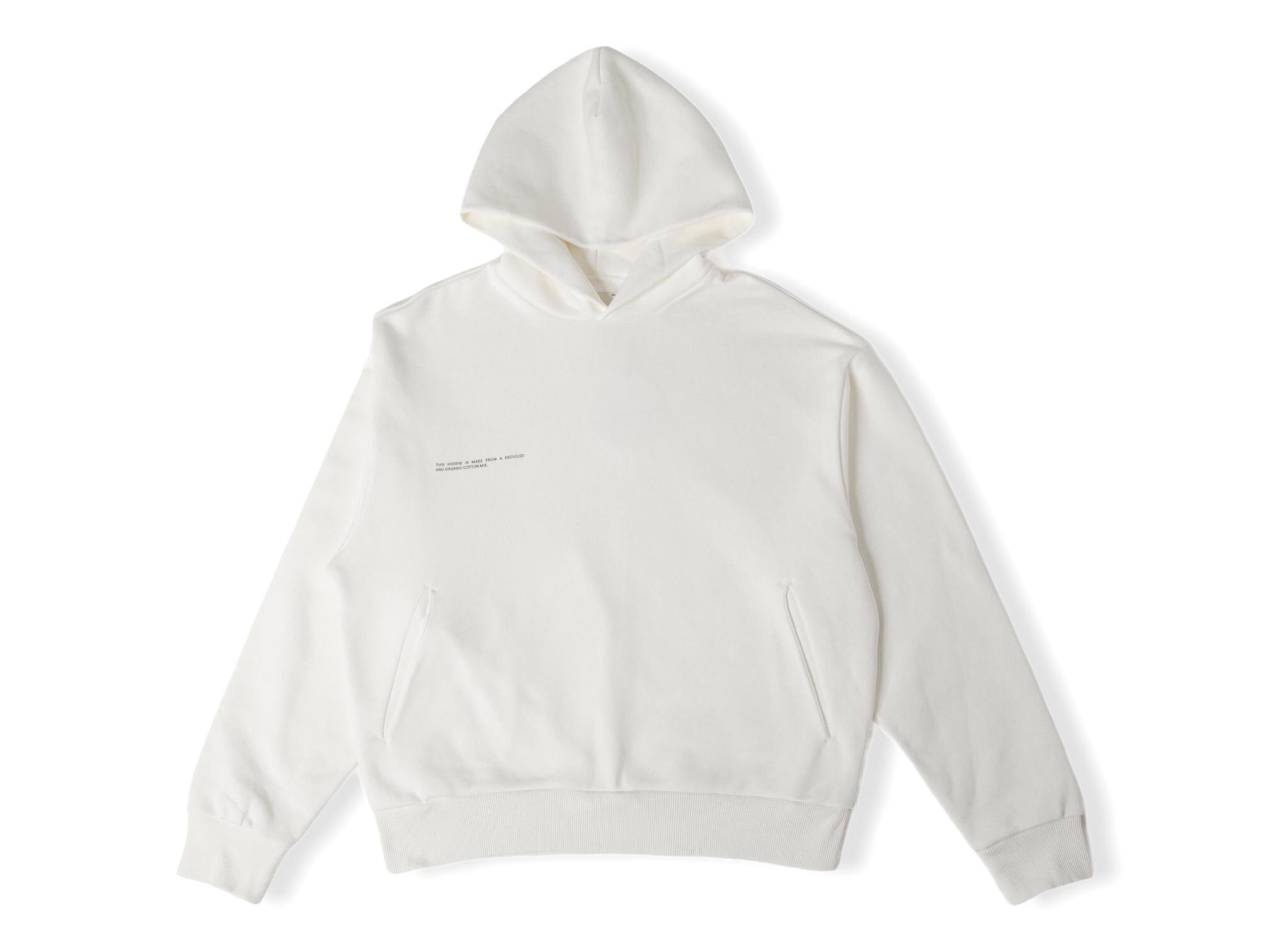 slide 1 - Heavyweight Cotton Hoodie - Off White