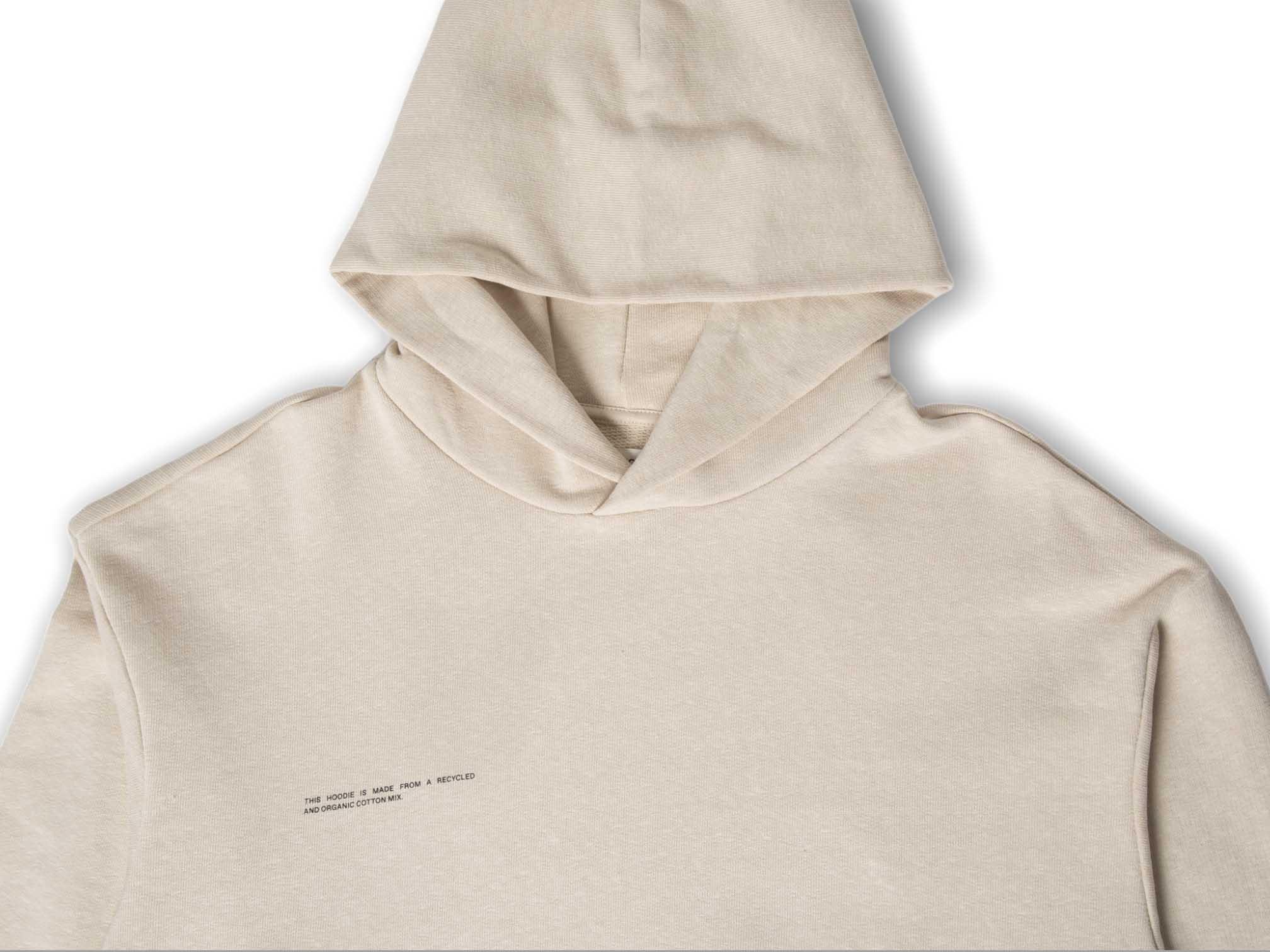 slide 2 - Heavyweight Cotton Hoodie - Sand