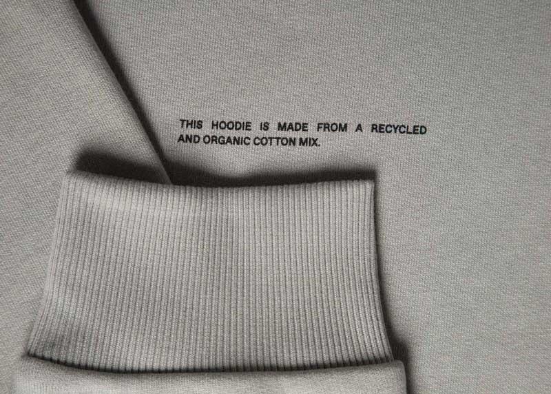 slide 3 - Heavyweight Cotton Hoodie - Stone