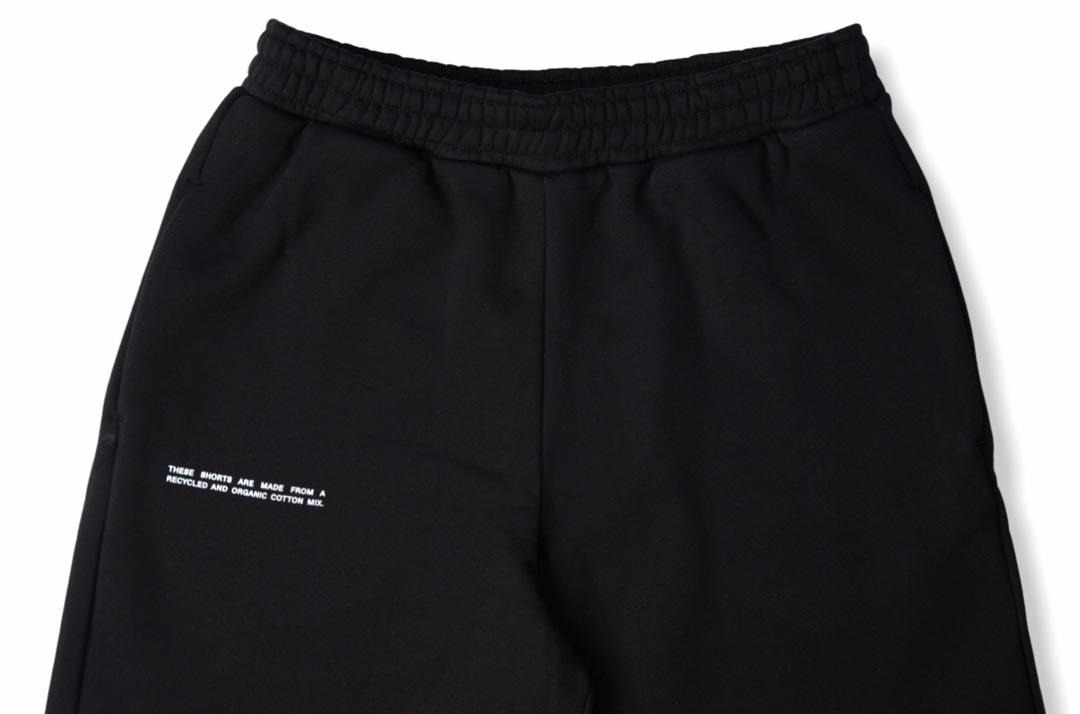 slide 2 - Heavyweight Cotton Long Shorts - Black