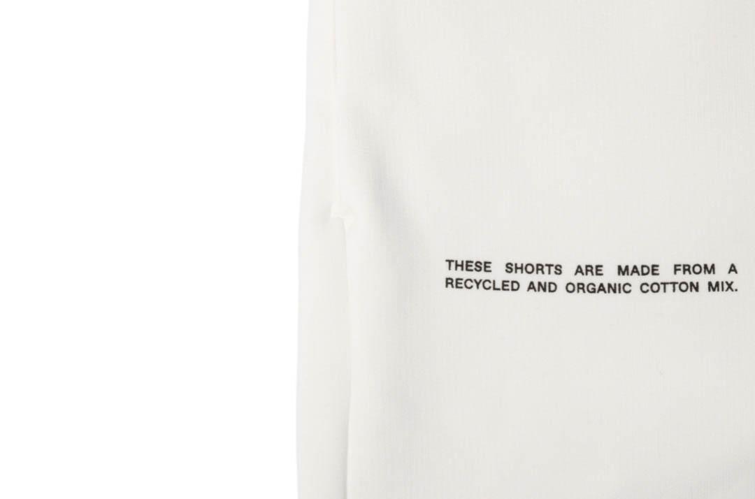 slide 2 - Heavyweight Cotton Long Shorts - Off White