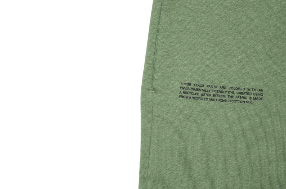 slide 3 - Heavyweight Cotton Track Pants - Khaki