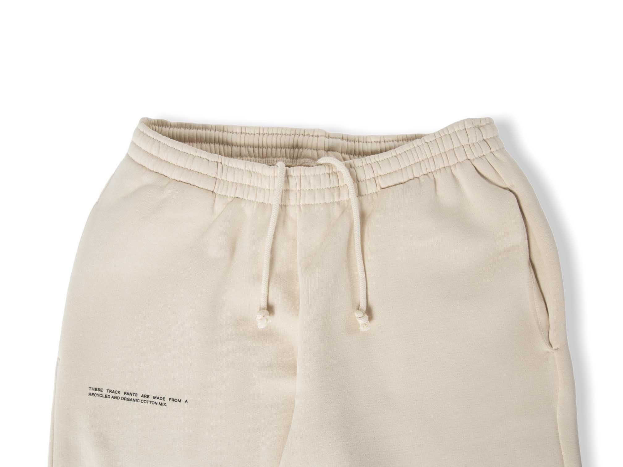slide 2 - Heavyweight Cotton Track Pants - Sand