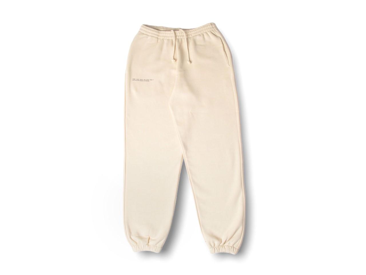 slide 1 - Heavyweight Cotton Track Pants - Sand