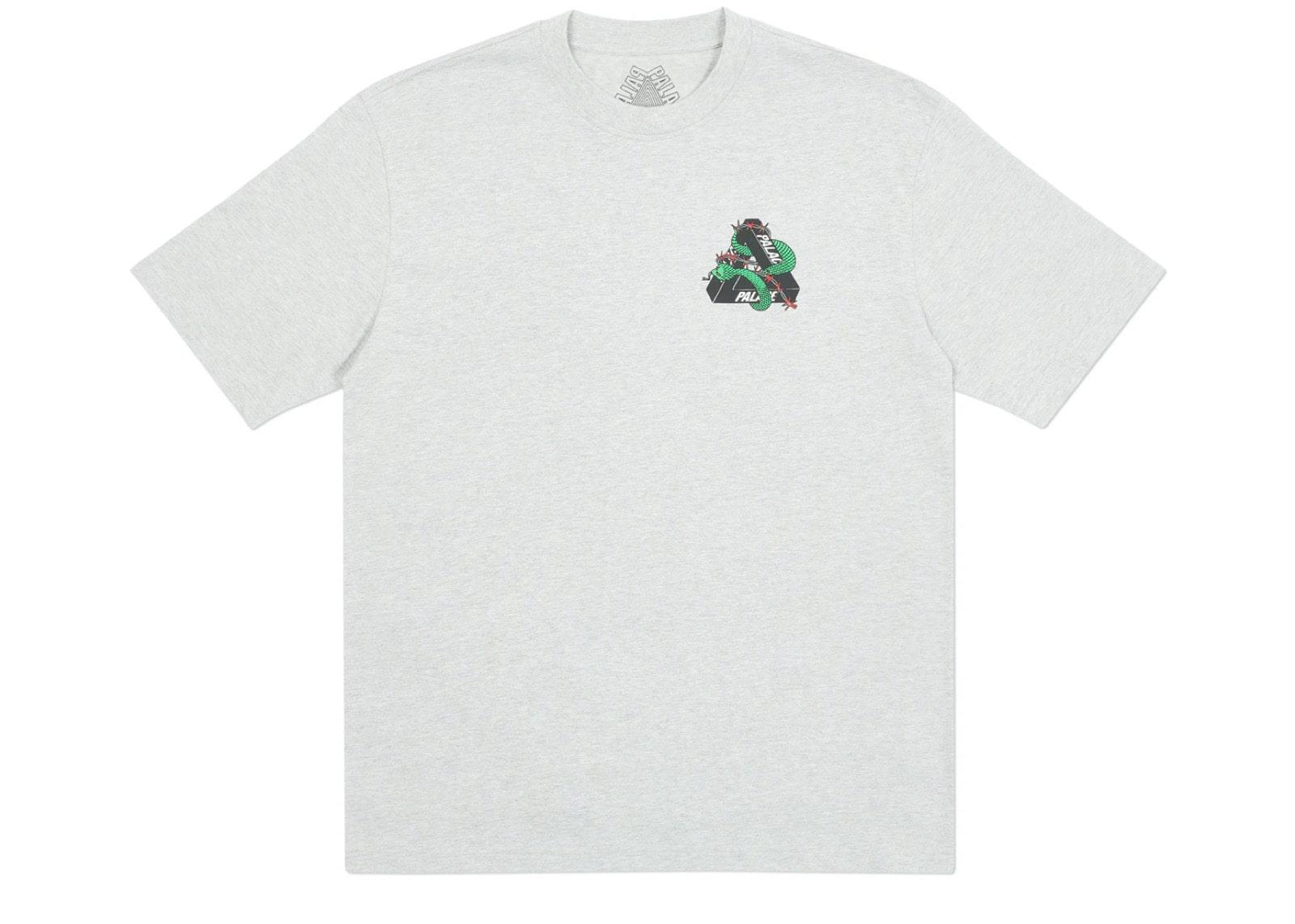slide 2 - Grey Marl Hesh Mit Fresh Tshirt