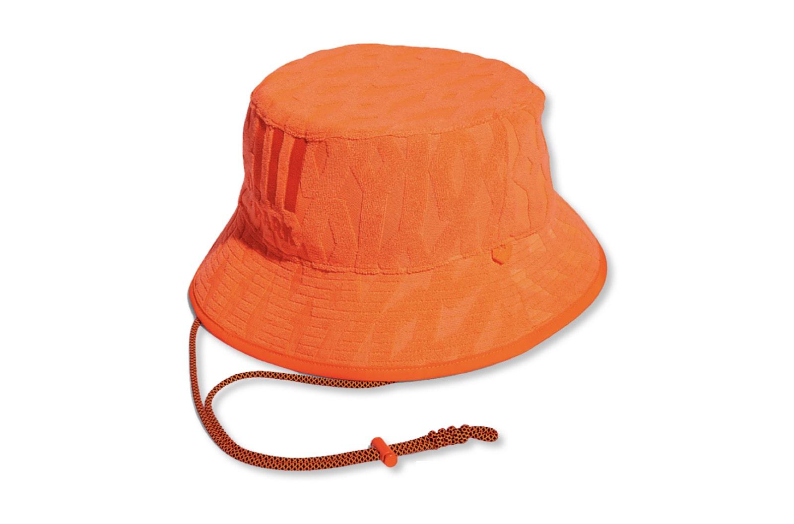 slide 1 - Solar Orange Bucket Hat