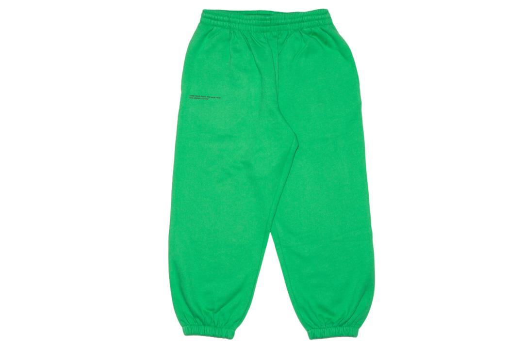 slide 1 - Jade Green Organic Cotton Track Pants