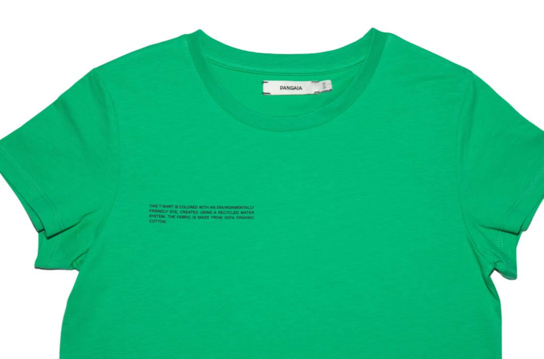 slide 2 - Jade Green Organic Cotton Tshirt