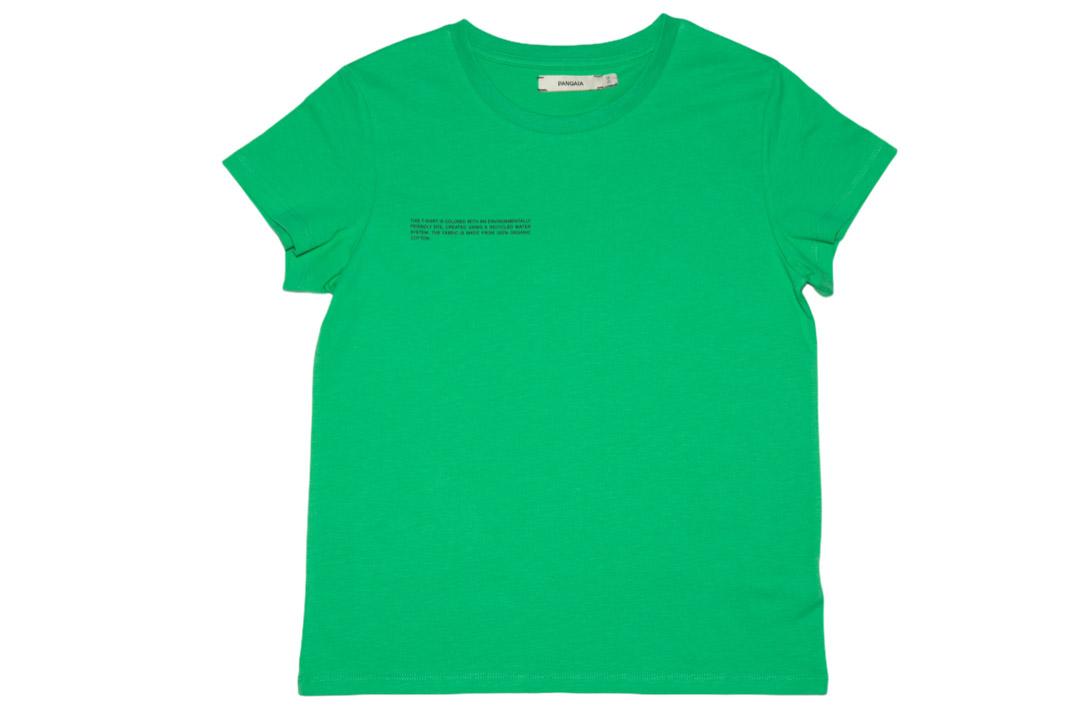 slide 1 - Jade Green Organic Cotton Tshirt