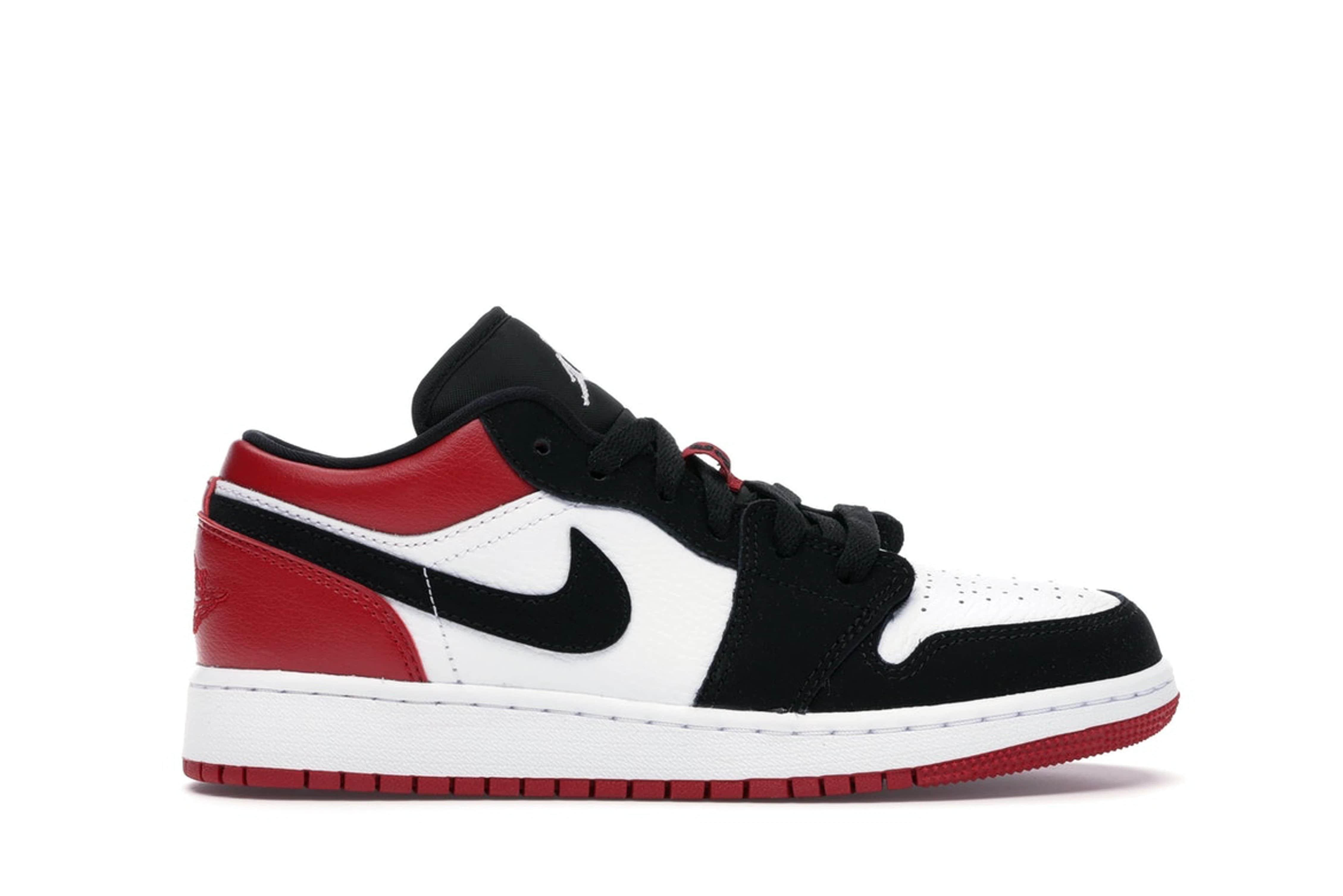 slide 1 - Jordan 1 Low Black Toe (GS)