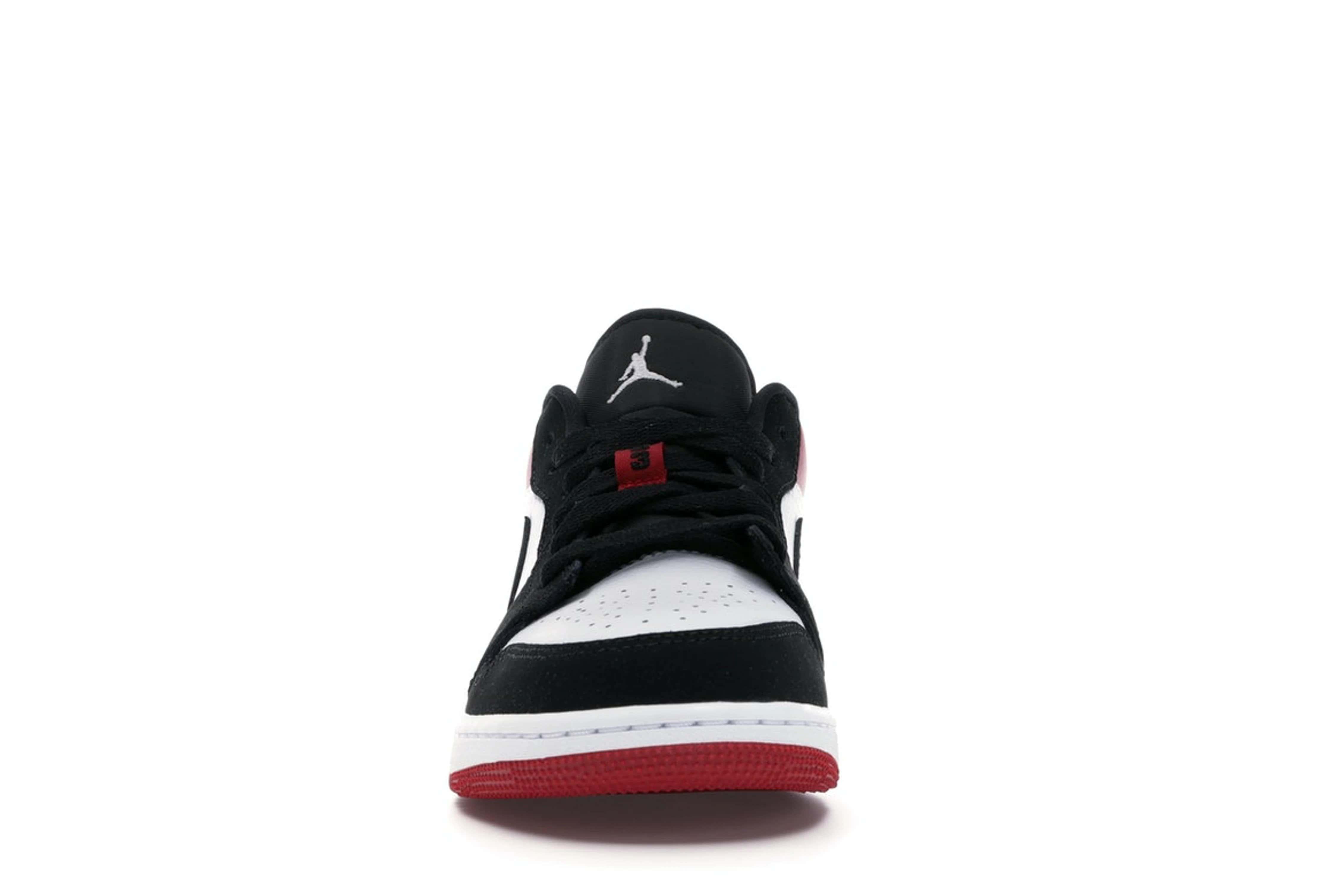 slide 2 - Jordan 1 Low Black Toe (GS)