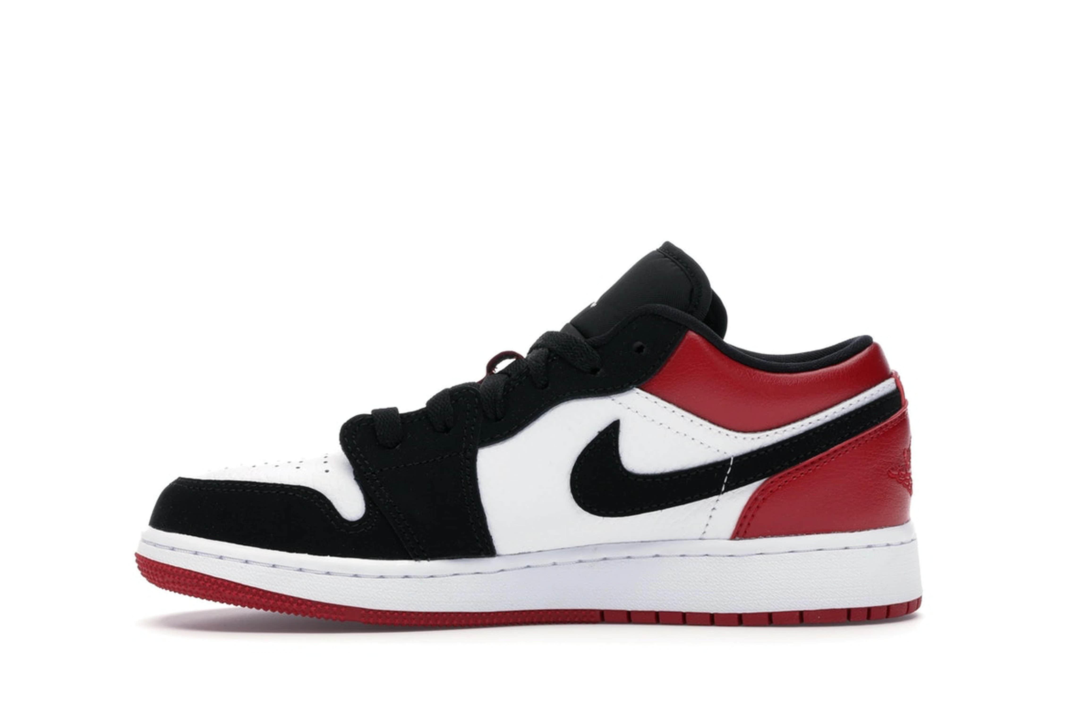slide 3 - Jordan 1 Low Black Toe (GS)
