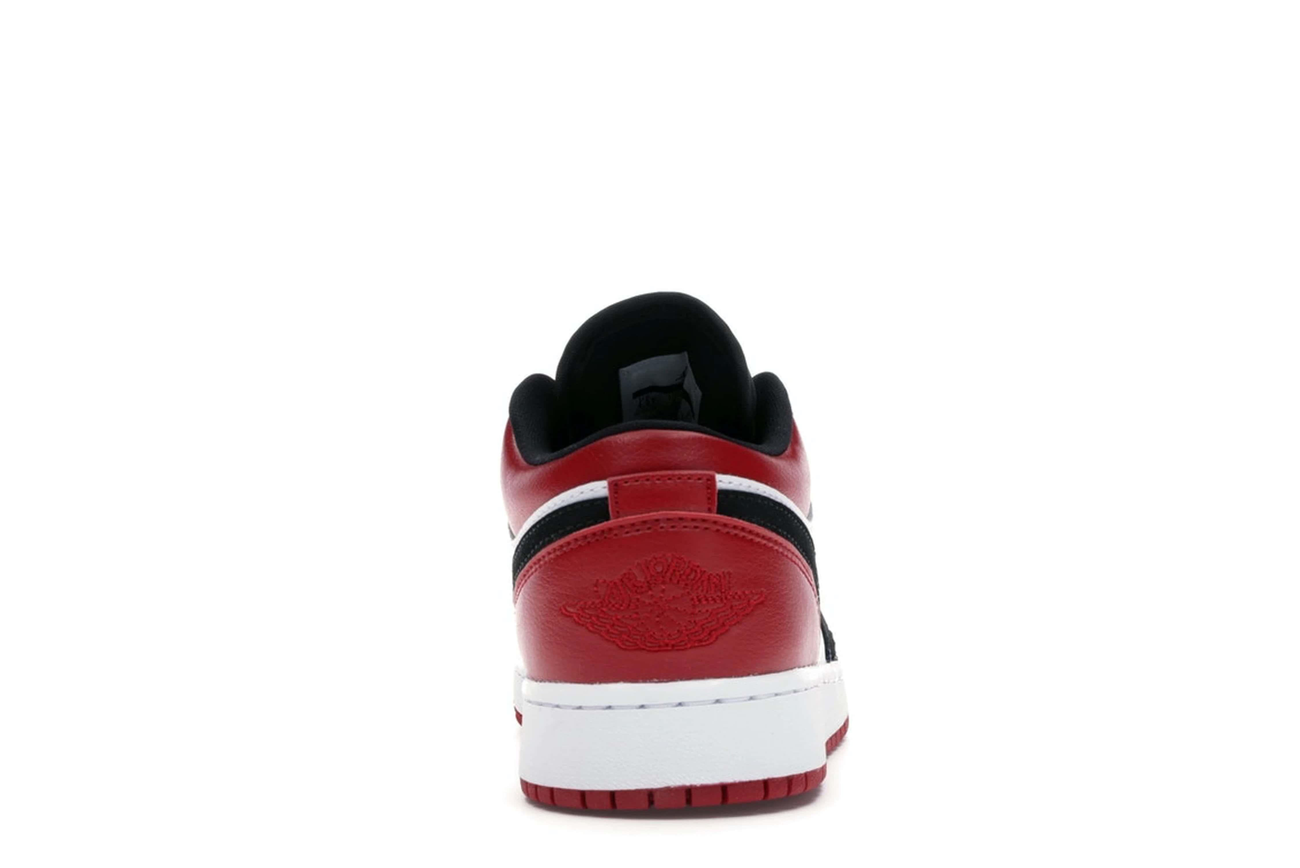 slide 4 - Jordan 1 Low Black Toe (GS)