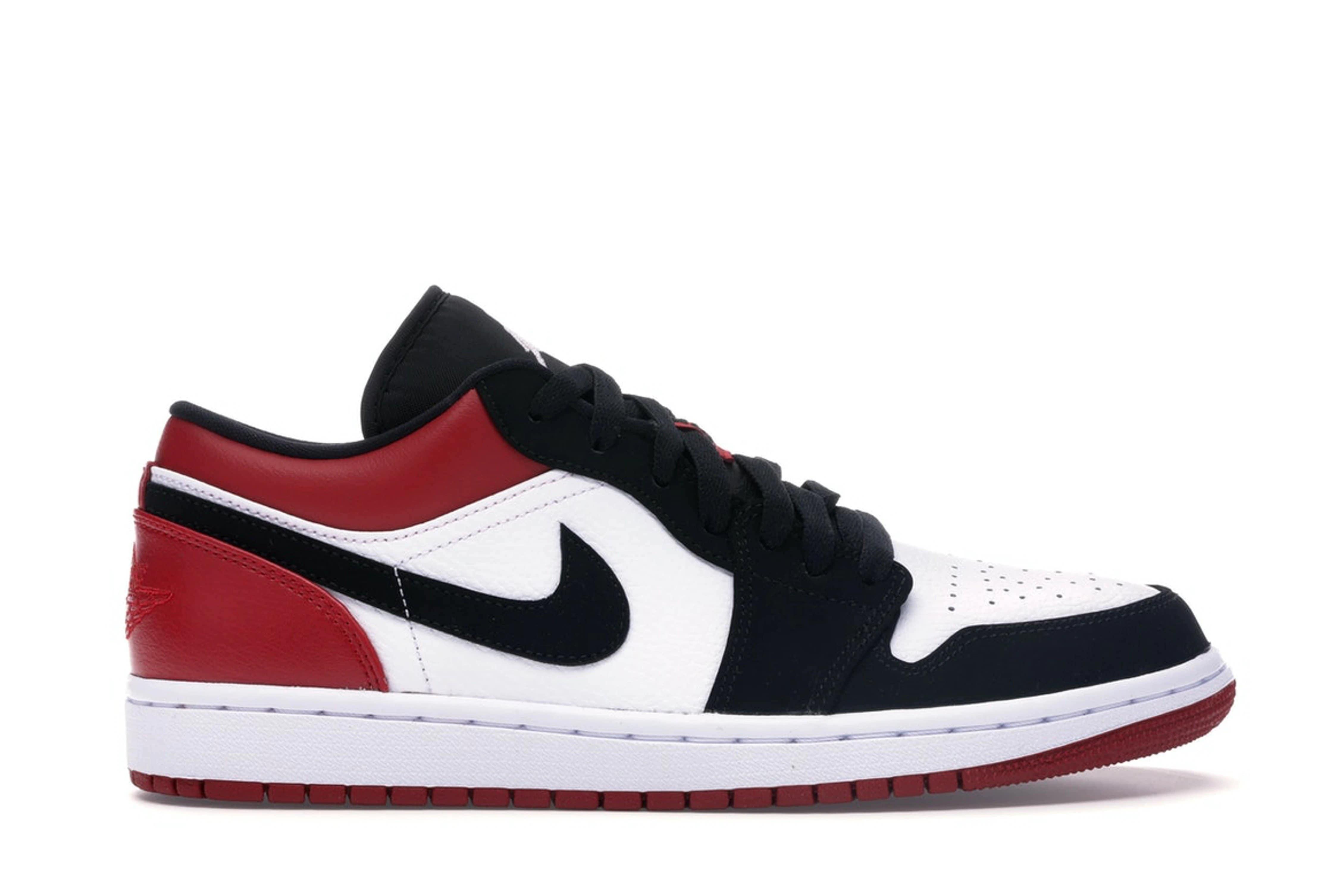 slide 1 - Jordan 1 Low Black Toe