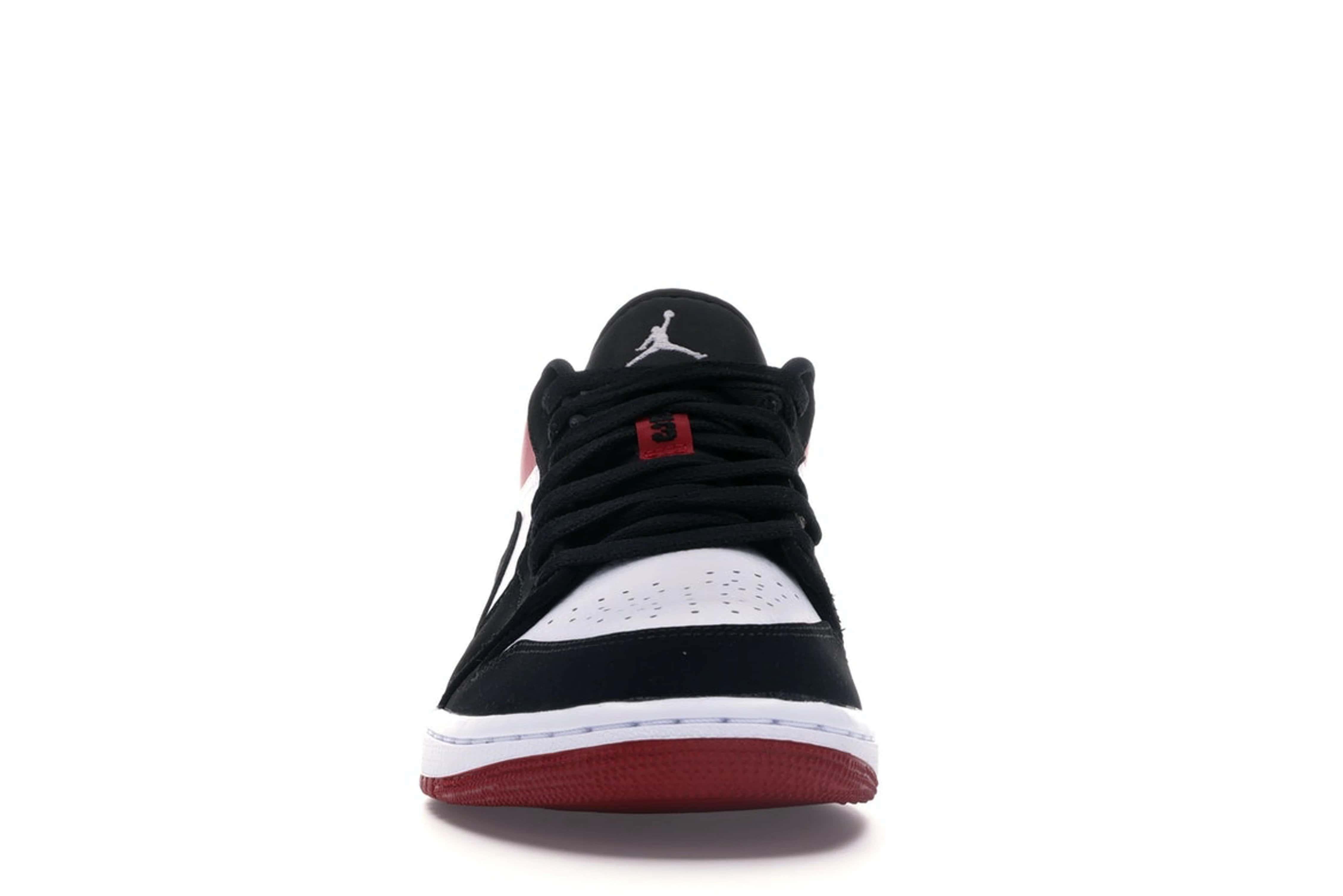 slide 2 - Jordan 1 Low Black Toe