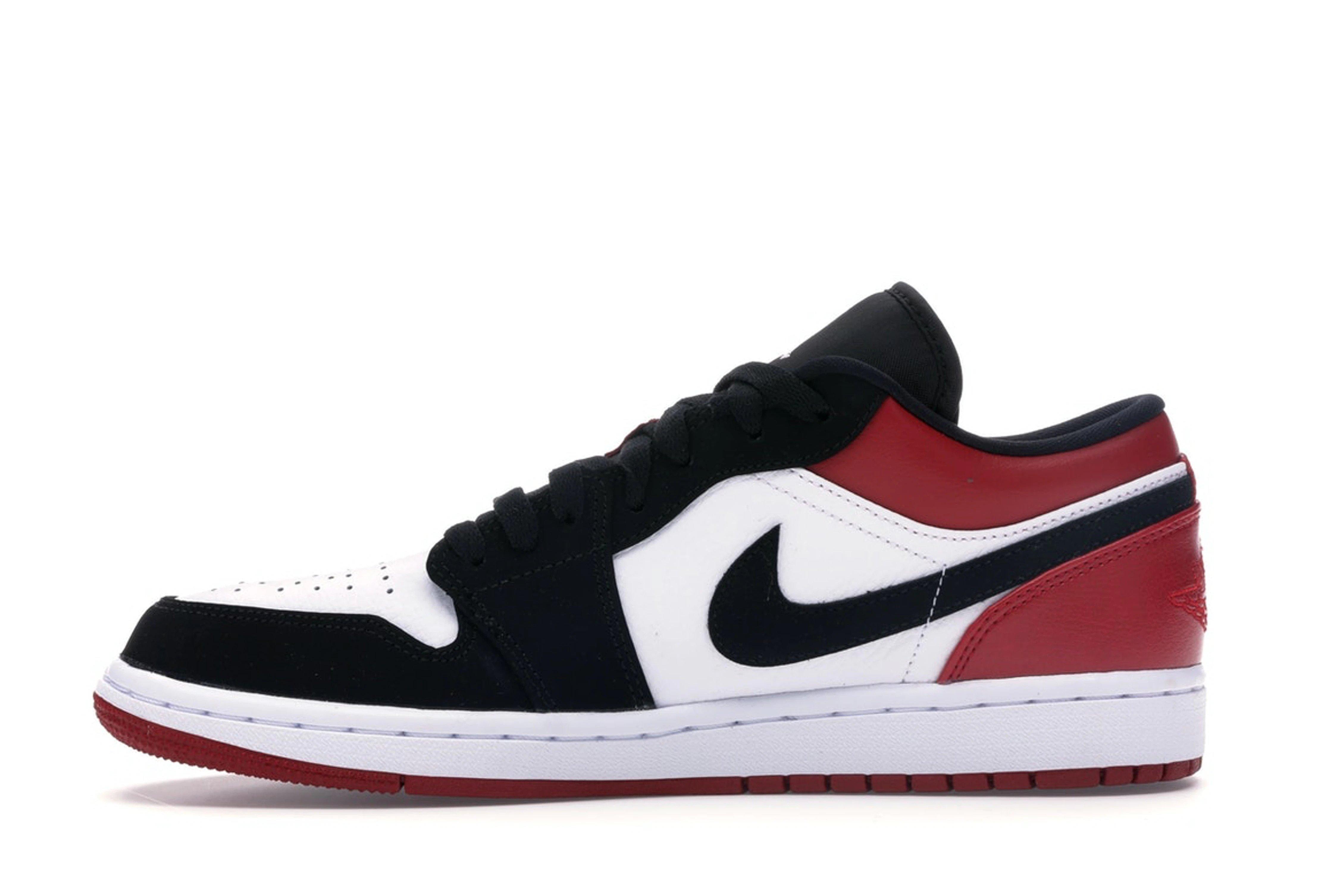 slide 3 - Jordan 1 Low Black Toe