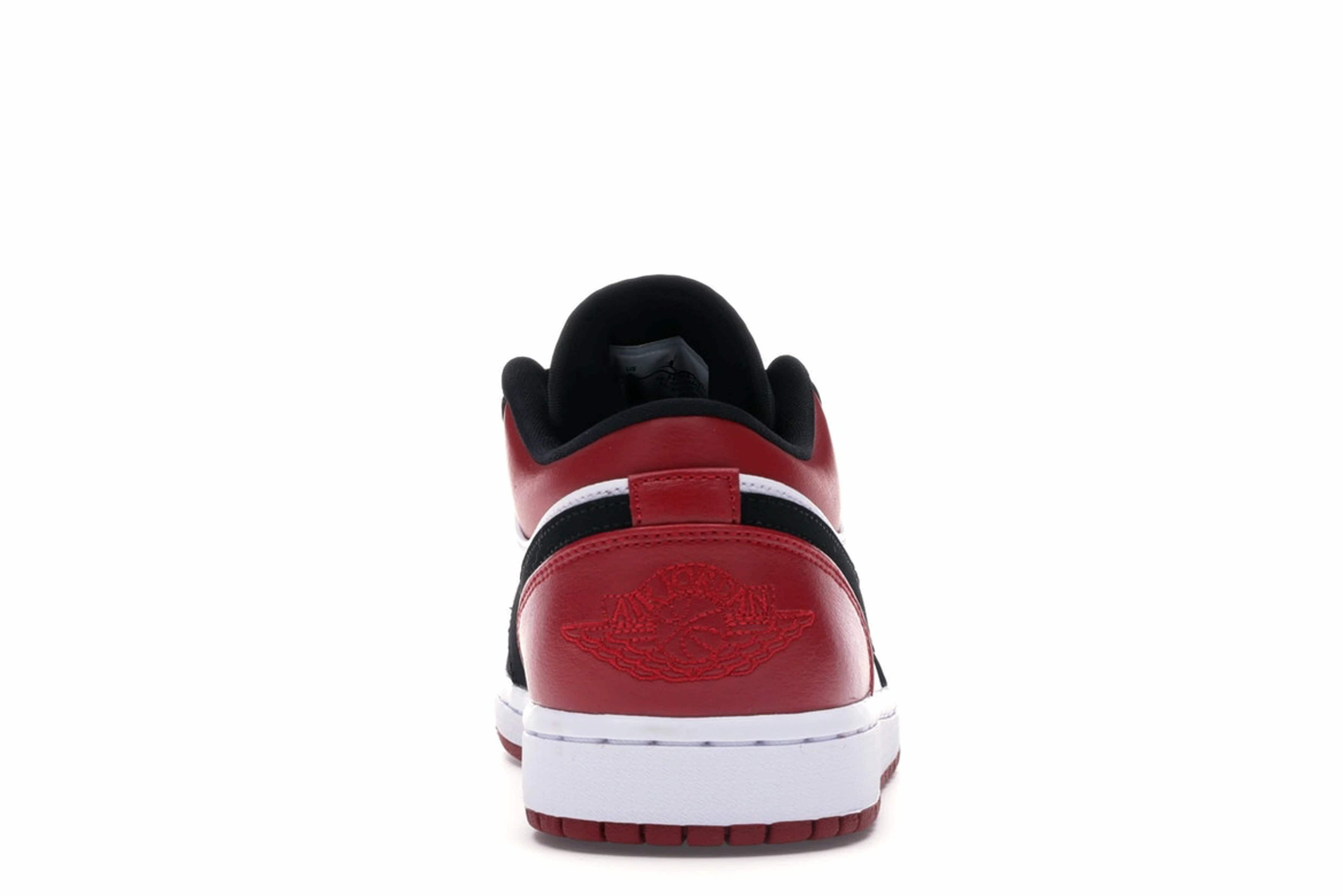 slide 4 - Jordan 1 Low Black Toe