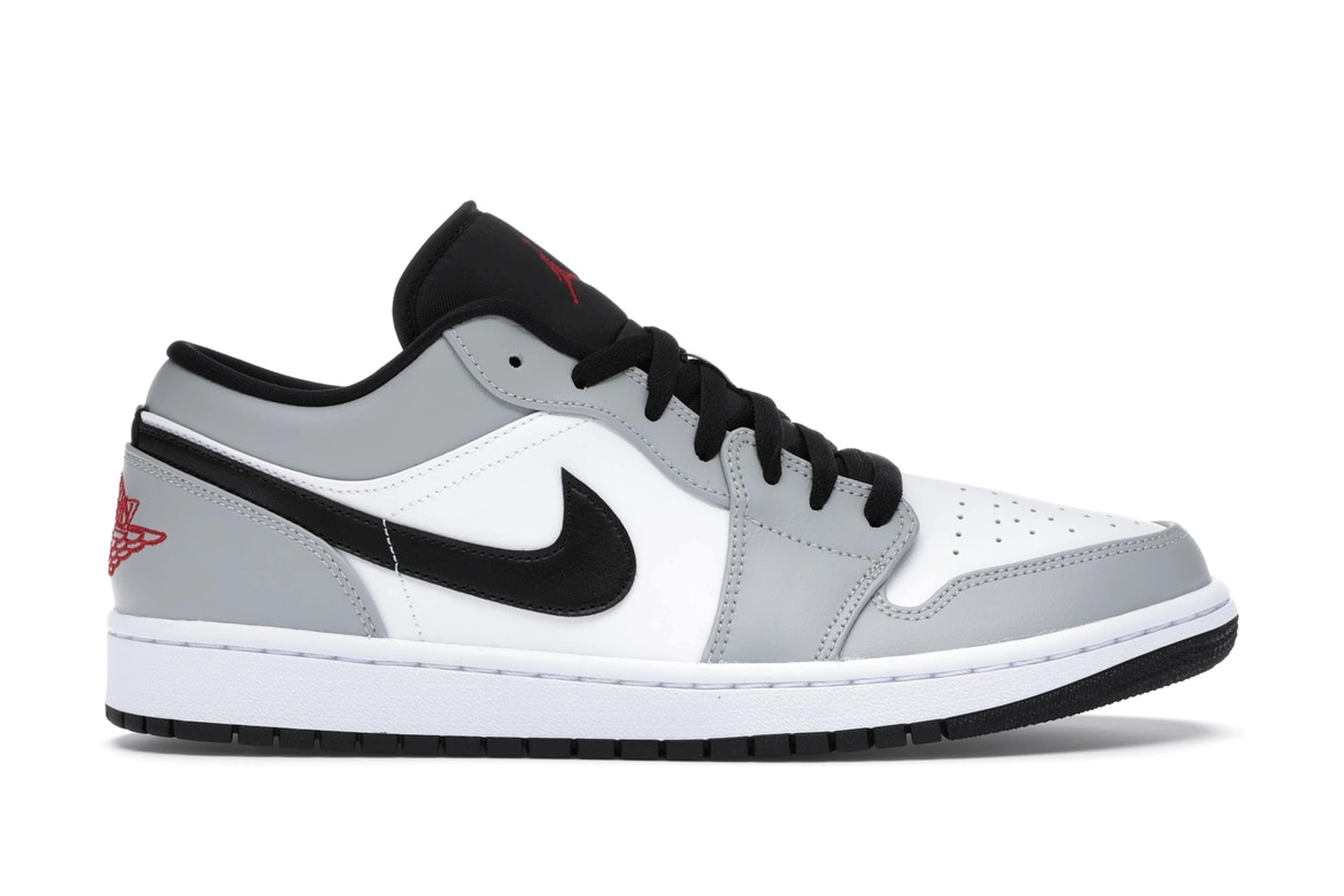 slide 1 - Jordan 1 Low Light Smoke Grey