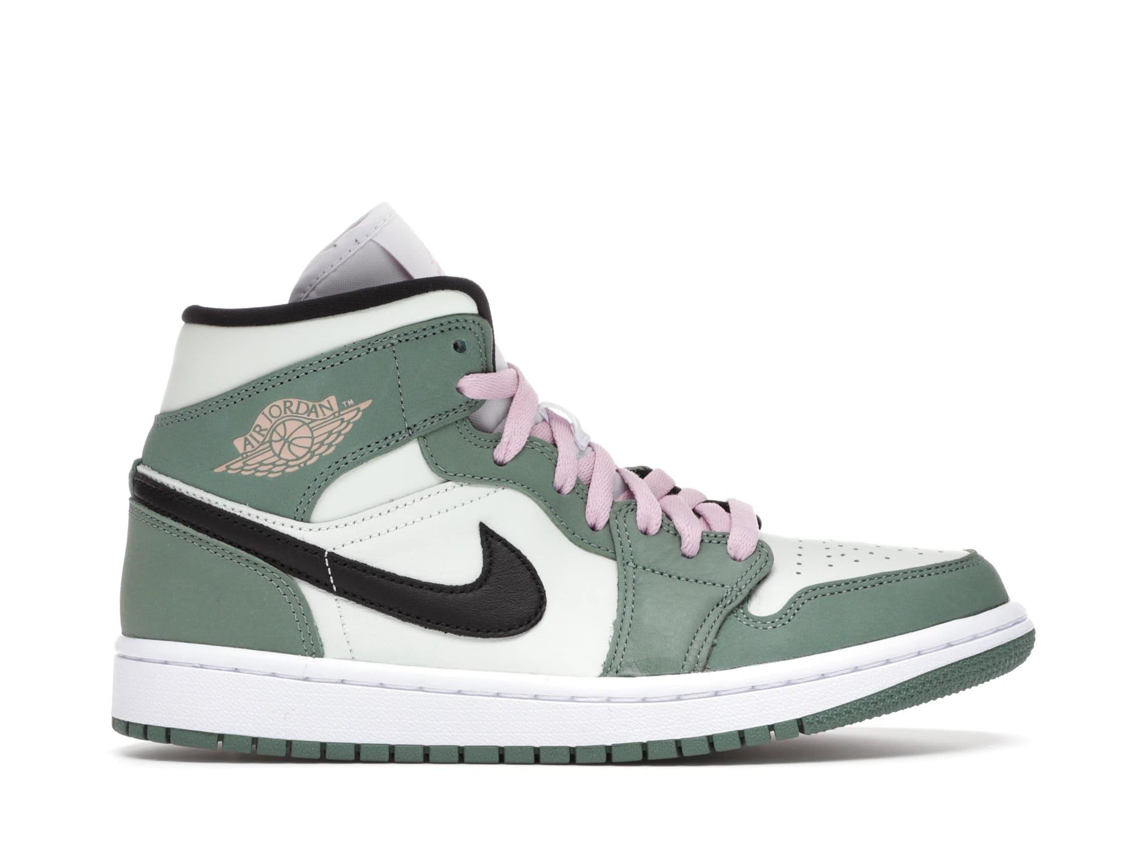 slide 1 - Jordan 1 Mid Dutch Green (W)