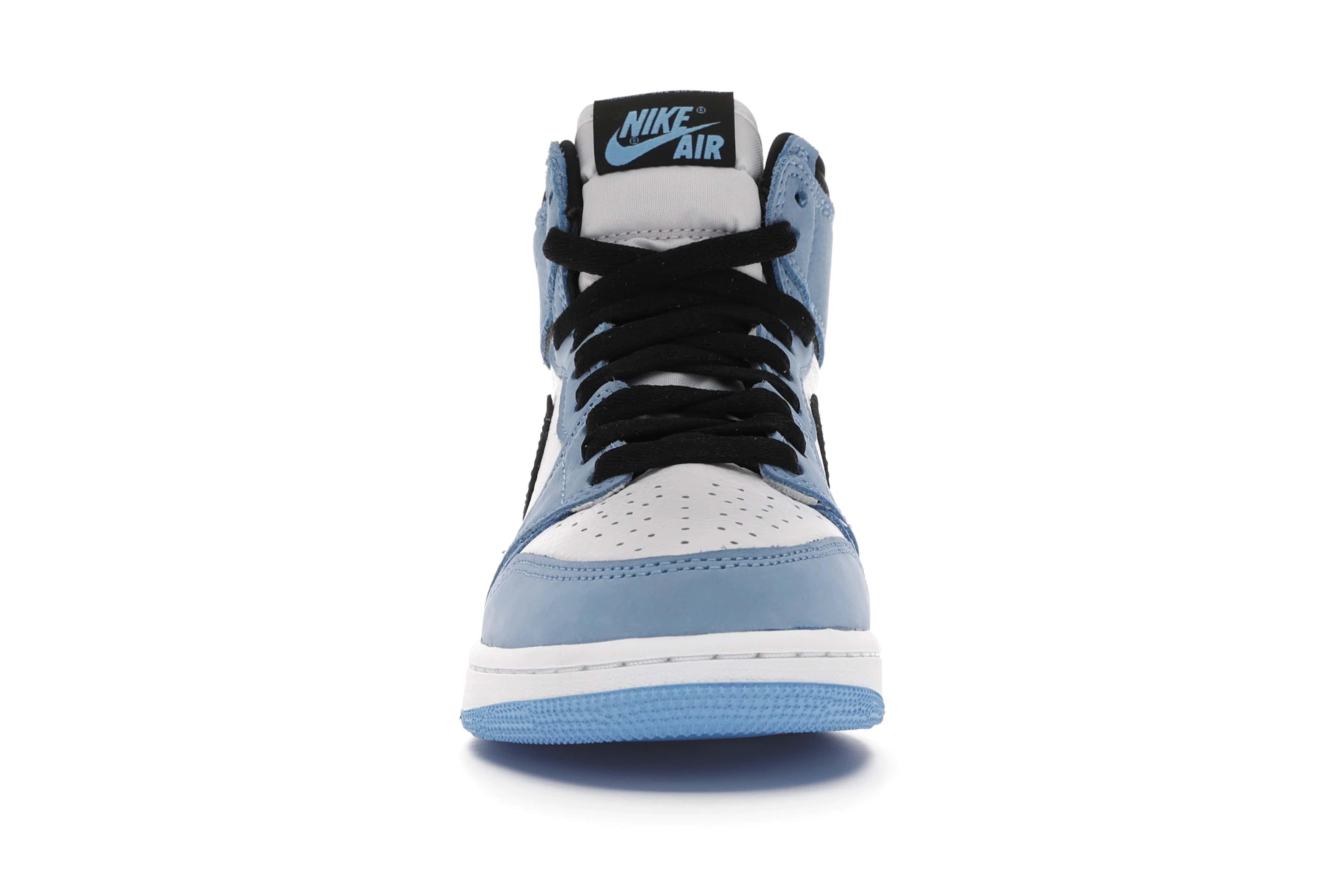slide 2 - Jordan 1 Retro High White University Blue Black (GS)