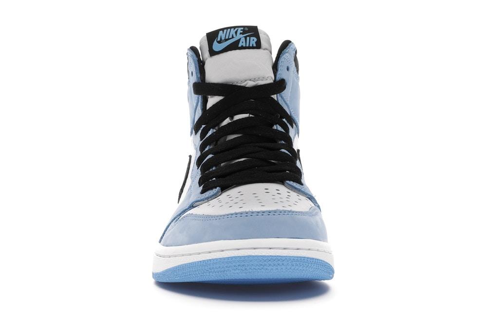 slide 2 - Jordan 1 Retro High White University Blue Black