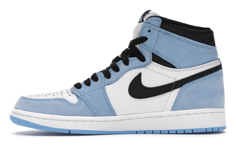 slide 3 - Jordan 1 Retro High White University Blue Black
